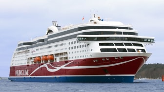 Miljöpionjären Viking Grace firar tusen LNG-bunkringar