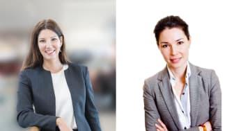 Catarina Göthberg och Jenny Clarberg-Åkesson