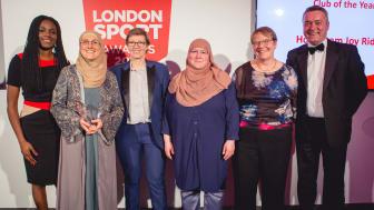 Hornbeam JoyRiders win Club of the Year at the London Sport Awards 2019