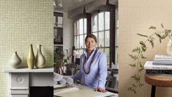 Engblad & Co skapar tapetkollektion i samarbete med den brittiska designern  Ilse Crawford.