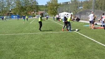 Mye fotballglede på Rommensletta under Stovner cup