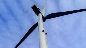 Fler uppdrag inom vindkraft för Klätterteknik AB