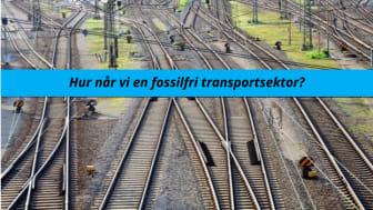 Hur når vi en fossilfri transportsektor?