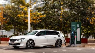 PEUGEOT 508 plug-in hybrid er kåret til Årets Firmabil i Danmark 2021