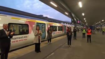 London Bridge Clap for Carers