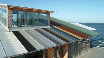 Vælg coating efter byggeriets tiltænkte levetid, lokale vejrforhold, placering og anvendelse.