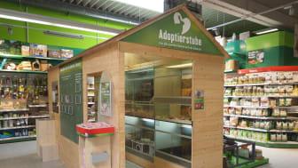 Adoptierstube im Fressnapf-Markt Tübingen