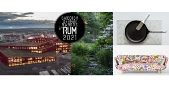 Vinnarna av Swedish Design Awards by RUM 2021