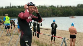 Jochen macht Triathlon: Drehtermin am Cospudener See - Foto: Team Jochen