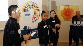 Børnedemokrater præsenterer erfaringer med børnedemokrati.