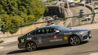 Den 1 juni ger sig Motormännens vägombud ut för att under sommaren granska Sveriges vägar. Alla vägombud har syncertifierats av Synoptik. Foto: Peter Gunnars