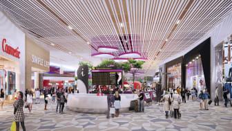 Walk-through retail in Departure Transit Lounge