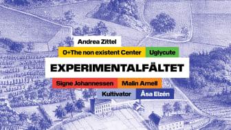 Grupputställningen Experimentalfältet pågår 7 november 2020–14 mars 2021.