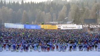 Vasaloppets vintervecka fulltecknad – för första gången någonsin