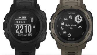Garmin® Instinct™ Tactical Edition - ääriolosuhteisiin suunniteltu kestävä GPS-kello