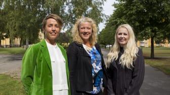 Högskolan i Skövdes forskare Anna-Karin Pernestig, Helena Enroth och Diana Tilevik vill förbättra och snabba på diagnostiken för sepsis (blodförgiftning).