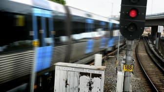 Avstängningar i SL-trafiken ger ökad risk för trängsel