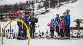 Ramundberget får fler barn att upptäcka längdskidåkning
