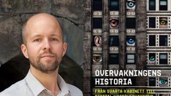 Ny bok om över 500 år av övervakning och övervakningsskandaler