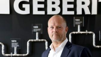 Peter Helgesson VD för Geberit Production AB