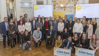 Auszeichnung für Energie-Vorbilder - Bayernwerk und Regierung verleihen Bürgerenergiepreis Oberpfalz 2019