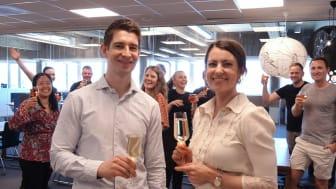 Visma gratulerer GetInspired.no med prisen som Årets nettbutikk 2020
