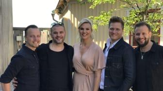 Sannex är som enda dansband klart för Allsång på Skansen 2018!