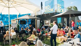 BoKlok på plats i Almedalen 2016