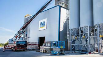 Finja Betong först i Norden med banbrytande skifte för torrbruksprodukter