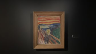 The Scream. Tempera and oil on cardboard. Photo: Munchmuseet
