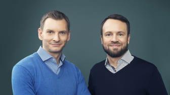 Hälsoexperten Jonas Bergqvist och minnesmästaren Mattias Ribbing i unik föreläsning