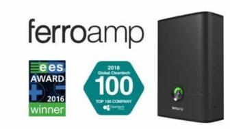 "Ferroamp tar plats på internationella Global Cleantechs lista ""2018 Global Cleantech 100"" som enda svenska bolag."