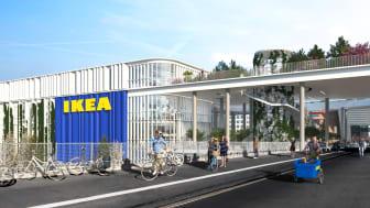 Ventetiden er ovre: Nu begynder byggeriet af IKEAs bæredygtige city varehus i København