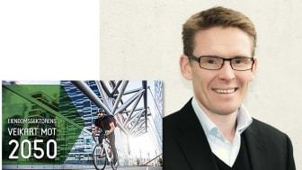 Å tilby boliger som er energieffektive, kommer bare til å bli viktigere i årene fremover, sier eiendomsdirektør Helge Christian Haugen. Foto Hanne E. Holst / SiO