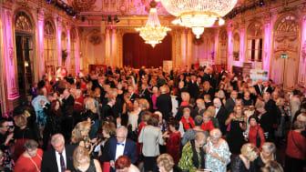 550 personer var med och förgyllde kvällen!