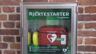 Hjertestartere giver tryghed i bybilledet