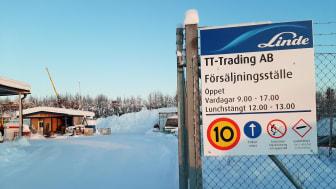 Nytt Linde-försäljningsställe i Kiruna