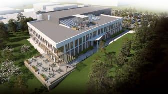 Equipnor´s nye hovedkontor blir et BREEAM Very Good bygg - skreddersydd for deres kontor og produksjonsbehov.