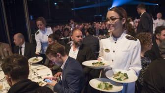 Från middagen Restauranggalan 2016 på Cirkus i Stockholm