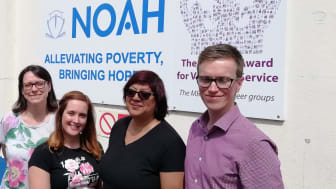 GTR team members swap desks for kitchen counters to help out homeless charity NOAH in Luton