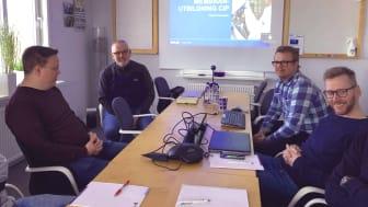 Patrick Petersson, Ecolab håller utbildning i membrantvätt på Mercatus