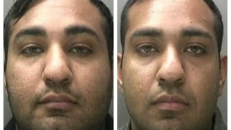 Imran Ali and Arfan Ali who have both been jailed for Gift Aid fraud