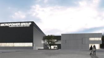 Småländsk arkitektur bakom global batterifabrik