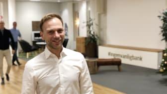 Björn Rinstad, ny vd på Leksands Sparbank