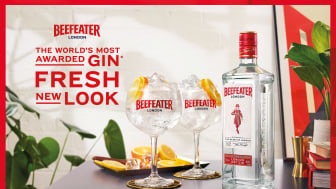 The World's Most Awarded Gin Fresh New Look