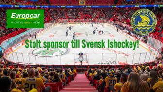 Europcar fortsätter som partner till Svenska Ishockeyförbundet!