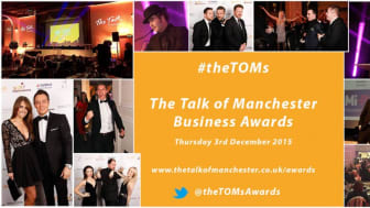 Finegreen at the Talk of Manchester Business Awards 2015 tonight!