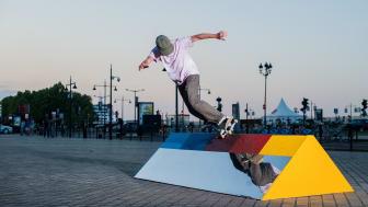 Bon Voyage – Utbyte av skulpturer anpassade för skateboardåkning mellan Malmö och Bordeaux
