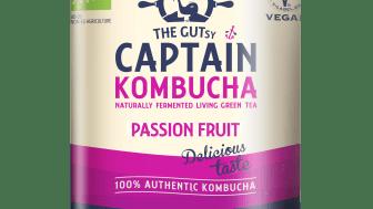 GUTsy Captain Kombucha Passion 400 ml tuotekuva
