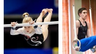 Fyra svenska gymnaster tävlar i EM i Moskva 17 - 19 april